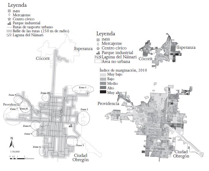Demanda Y Provisión De Trasporte Público En Ciudad Obregón