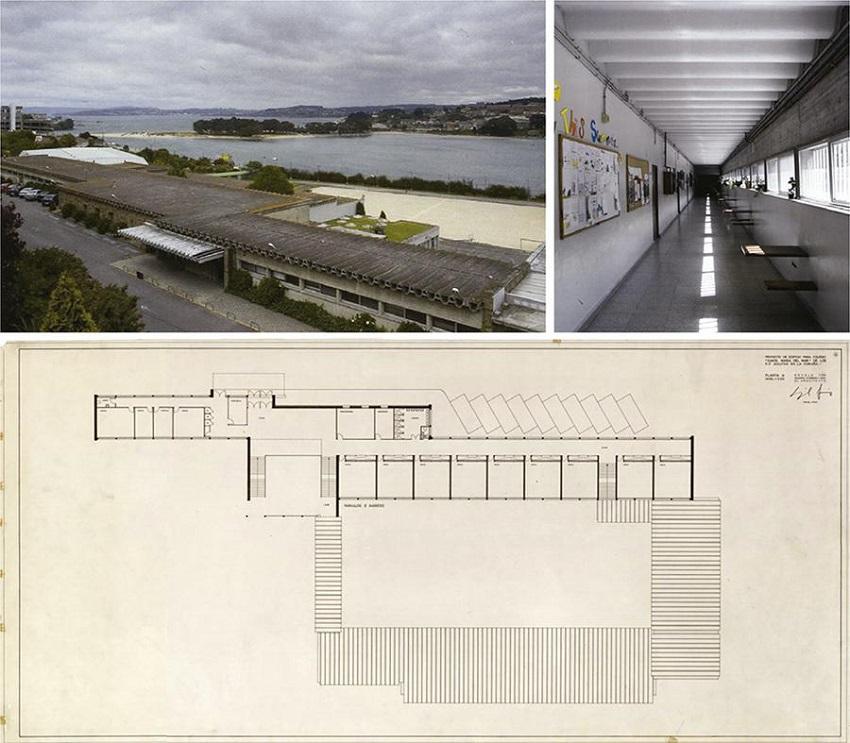 El Colegio Cuestas Blancas De Miguel Fisac Madrid 1965 Nuevas Estrategias Para Una Nueva Arquitectura Escolar