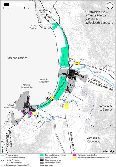 Conformación Metropolitana Desde La Fragmentación 1 El Proceso De Conurbación Del Gran La Serena