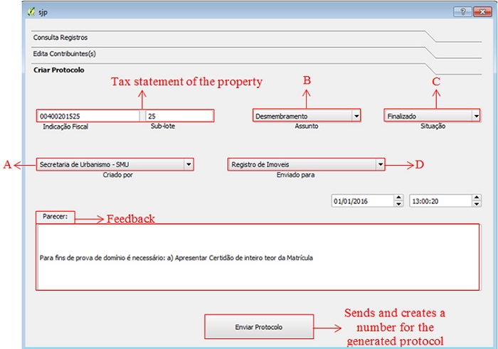 Visor Redalyc - A PROPOSAL FOR INTEGRATING DATA OF LAND REGISTRY AND