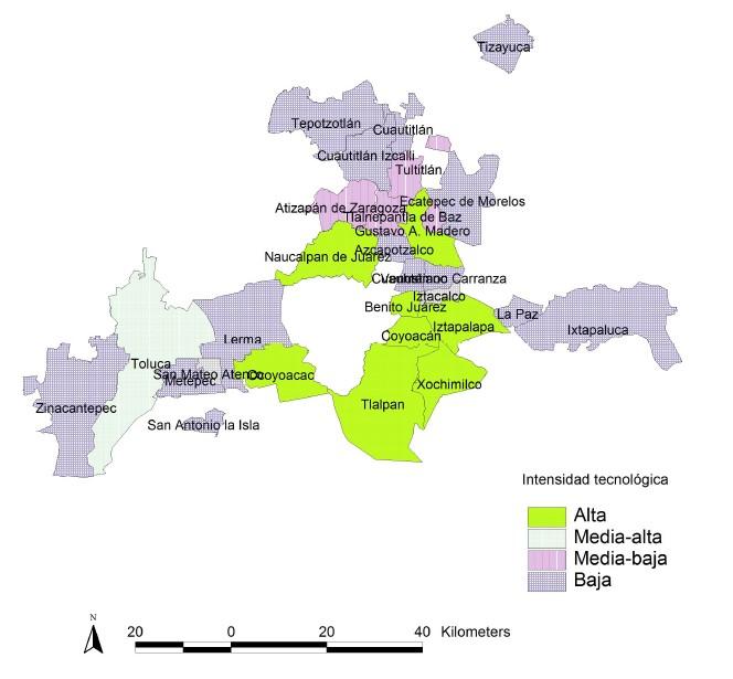 Evolucion Y Cambio Industrial En Las Zonas Metropolitanas Del