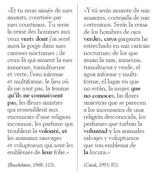 Huellas De Charles Baudelaire En Julián Del Casal Un Caso